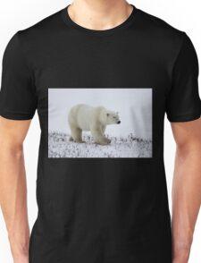 Polar Bear on the Tundra, Churchill, Canada Unisex T-Shirt