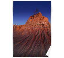 Lake Mungo at Dusk Poster