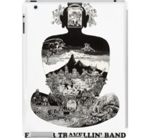 Flower Travellin Band Shirt! iPad Case/Skin