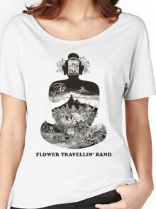 Flower Travellin Band Shirt! Women's Relaxed Fit T-Shirt
