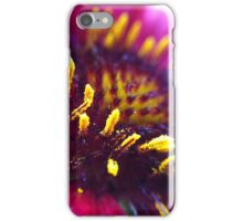 Close Up Pink and Yellow iPhone Case/Skin