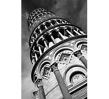 Disappearing Tower Of Pisa Photographic Print