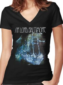 Sir Lord Baltimore shirt! Women's Fitted V-Neck T-Shirt
