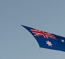Australian Flag by Skye Harris