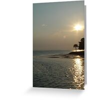 Sunset at Cherry Street Greeting Card
