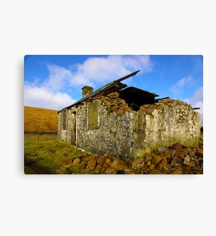 Ruin in the Dales #4 Canvas Print