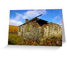 Ruin in the Dales #4 Greeting Card