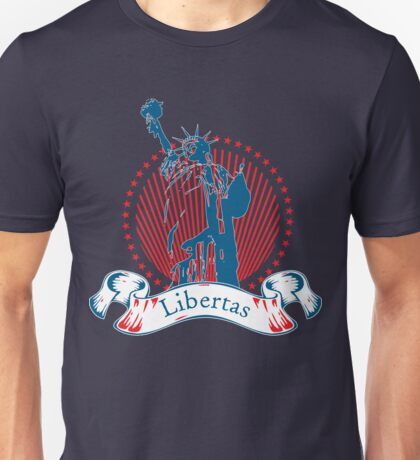 Libertas (Latin) Unisex T-Shirt