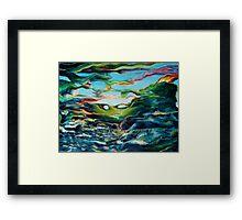ephemeral nature Framed Print