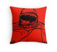 SUPLEXTRONAUT Throw Pillow
