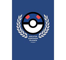 Greater Pokemon Trainer Photographic Print