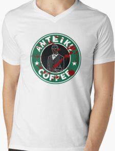 Anteiku Coffee Mens V-Neck T-Shirt