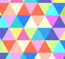 Oregon State of Colorful Triangles  Sticker