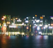 Hong Kong Lights by Shari Mattox