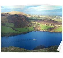 The Lake District: Ullswater Steamer Poster