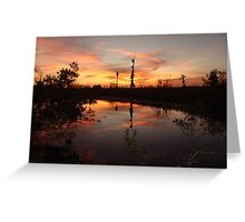 Sunset no. 8 Greeting Card