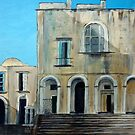 Old building, Capri by Carole Russell