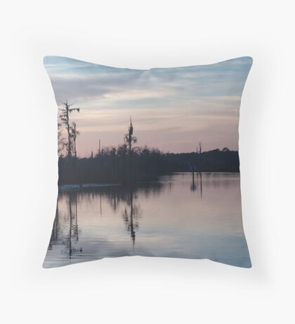 Sunset on Bear Creek  Throw Pillow