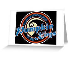 Pumpkin Kings Funny Geek Nerd Greeting Card