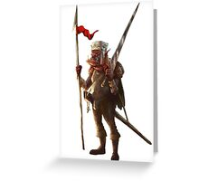 Orc Scout Greeting Card