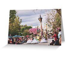 Disneyland's Soundsational Parade  Greeting Card