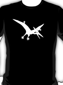 Polydactyl Pterodactyl (white design) T-Shirt