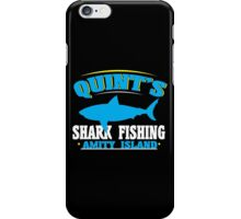 Quint's shark fishing amity island Funny Geek Nerd iPhone Case/Skin