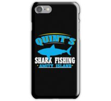 Quint's shark fishing amity island Funny Geek Nerd iPhone Case/Skin