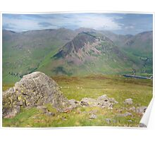 The Lake District: Yewbarrow Poster