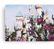 Disneyland In The SpringTime Canvas Print