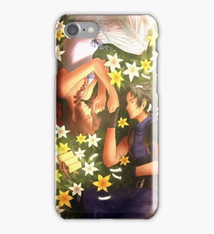 Final Fantasy VII - Zack and Aerith iPhone Case/Skin