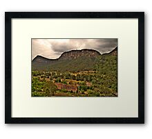 The Lost City - Glen Davis, Capertee Valley - The HDR Experience Framed Print