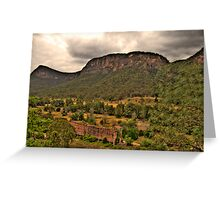 The Lost City - Glen Davis, Capertee Valley - The HDR Experience Greeting Card