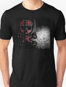 Plaid Skull Unisex T-Shirt