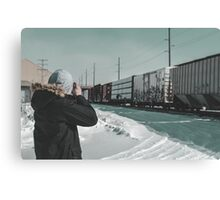 Film Shooter Canvas Print