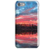 Pond at Sundown iPhone Case/Skin