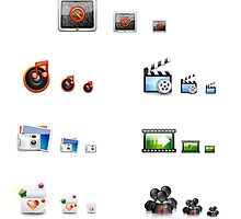 APPLICATION ICONS by Angel J