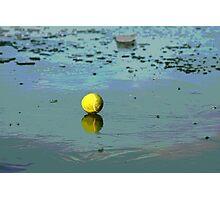 Tennis on Ice Photographic Print