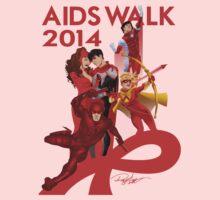 AIDS WALK 2014 One Piece - Long Sleeve