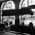 Pool players by victor