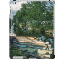 Caravan Park beside Derwent R at Stamford Bridge Humberside England 19840602 0139m  iPad Case/Skin