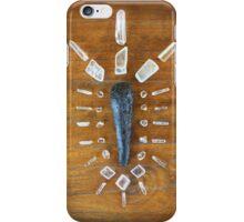 Tektite & Ulexite Crystal Grid iPhone Case/Skin