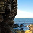 Doonbeg Castle, County Clare by Avril Brand