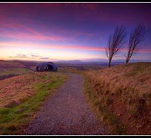 Atom Panopticon at sunset by Shaun Whiteman