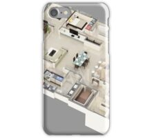 3D Floor Plan Modeling iPhone Case/Skin