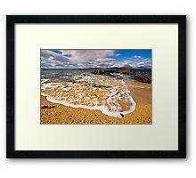 Hebridean Wave Framed Print