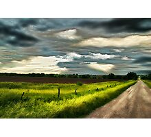 Early Morning Spring Storm Photographic Print