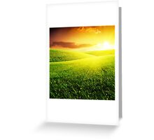 Become On Greeting Card