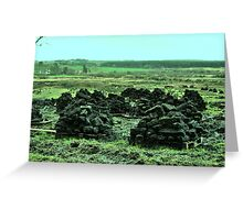 Peat on Pellets - county Clare Greeting Card