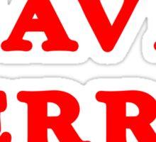 SAVE FERRIS Funny Geek Nerd Sticker